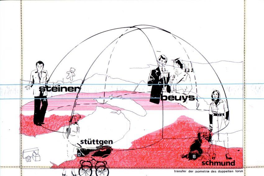 2001 TransferDerIsometrieDD paper AndreasGehlen 850x567 - Transfer of isometry