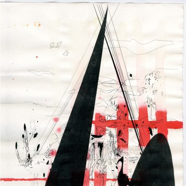 2004 DasEvolutionsfirmamentIstPermanent paper AndreasGehlen 375x375 - Untitled / The evolution firmament is permanent