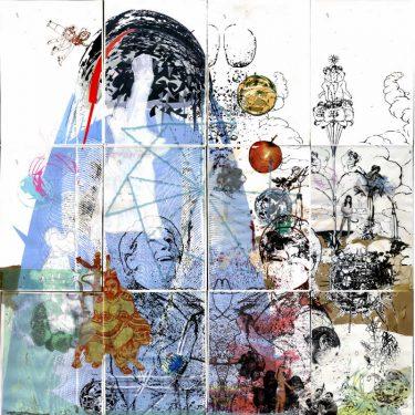 2005 Muetterchen paper AndreasGehlen 375x375 - Mütterchen, meine Haare, trägt der Wind sie mir davon