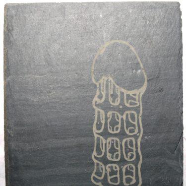 2009 OT Penissculpture Schieferlaserung AndreasGehlen 375x375 - Ohne Titel (Laserzeichnung)